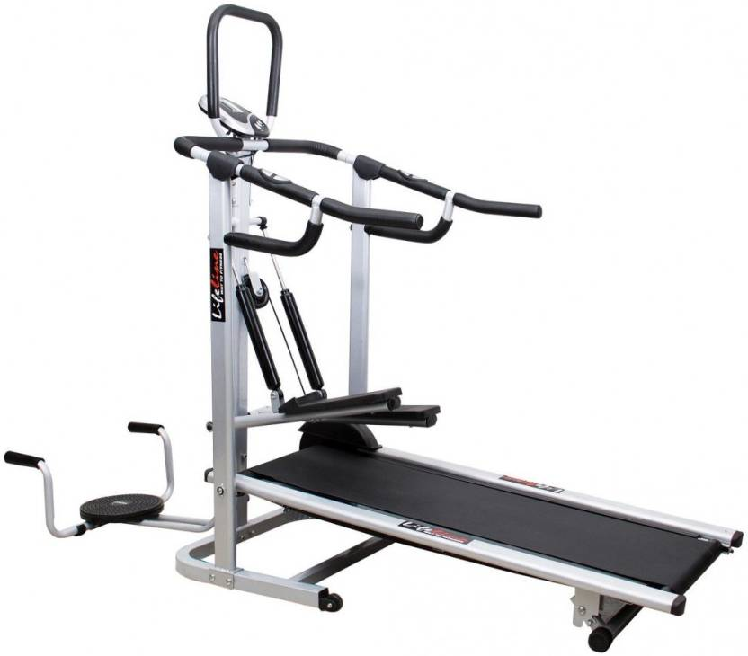 Compare & Buy Lifeline 4 In 1 Deluxe Manual Treadmill