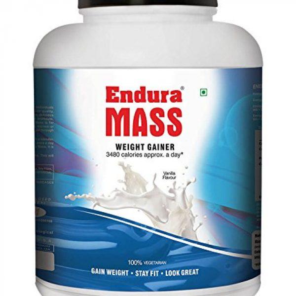 Endura Mass Weight Gainer 3kg (vanilla)