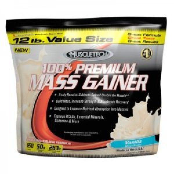 Muscletech 100% Premium Mass Gainerv2 12 Lbs (vanilla)