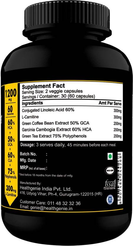 Compare Amp Buy Sinew Nutrition Natural Fat Burner 5x Green