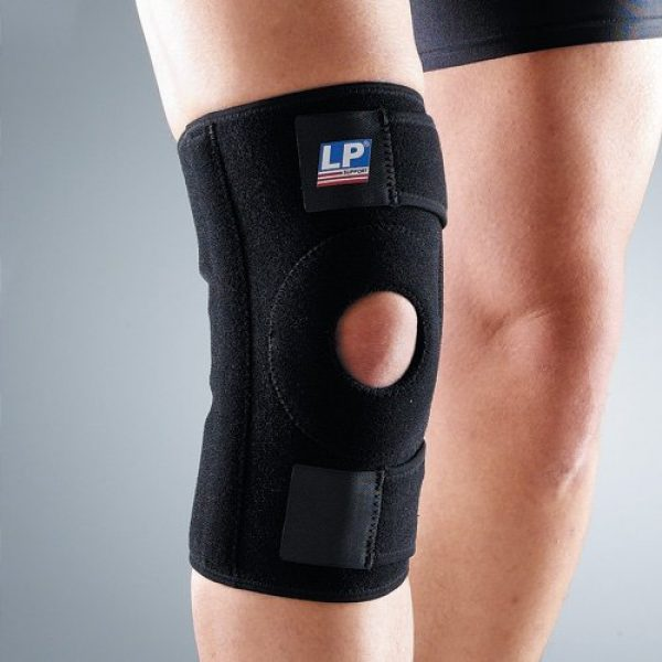 Lp 733 Knee Support With Stays (black) (free Size)