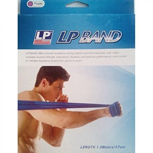 Lp 843 Supports Sports Latex Resistance Band Green (medium)