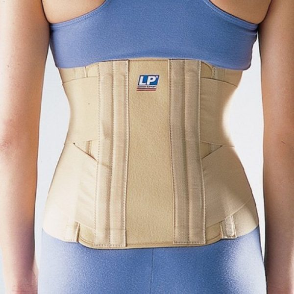 Lp Sacro Lumbar Back Support (unisex; Tan), Small