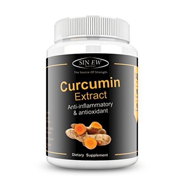 Sinew Nutrition Organic Turmeric Curcumin Extract 90 Capsules