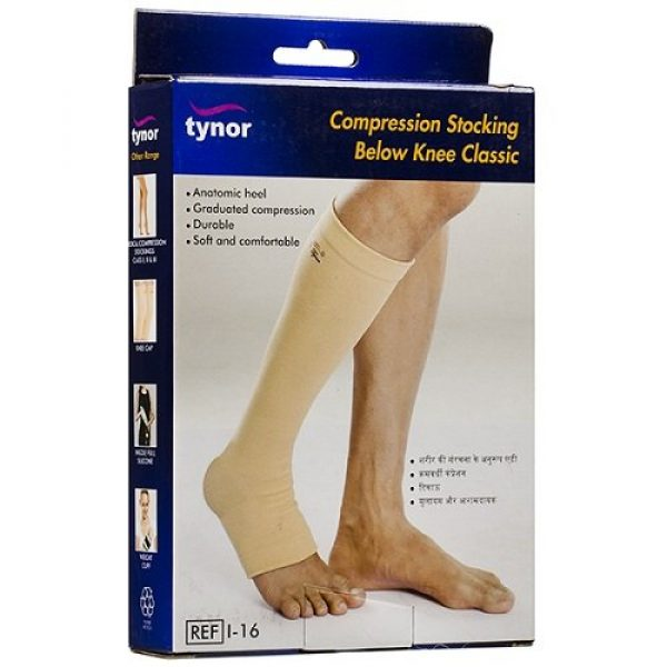 Tynor Compression Below Knee Stocking Small