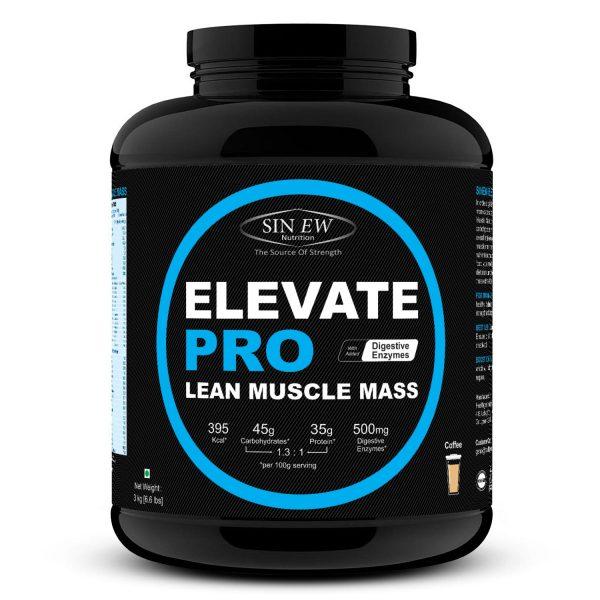 Elevate Pro Lean Muscle Mass (coffee) 3kg F