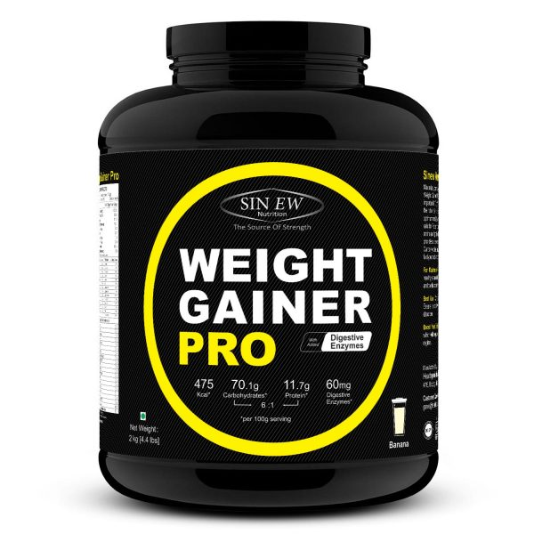 Weight Gainer Banana 2kg F