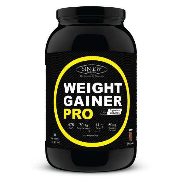 Weight Gainer Chocolate 1kg F
