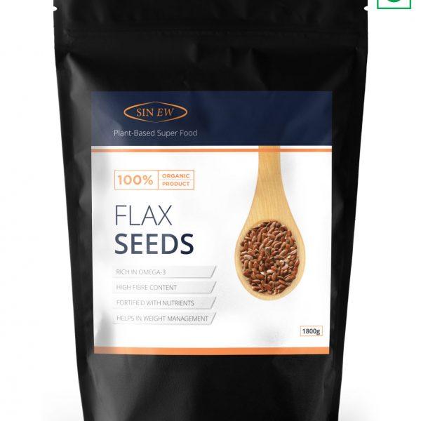 Flax Seeds 1800 G