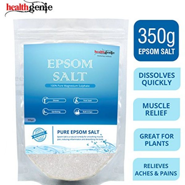 Healthgenie Epsom Salt For Relaxation And Pain Relief 350 G