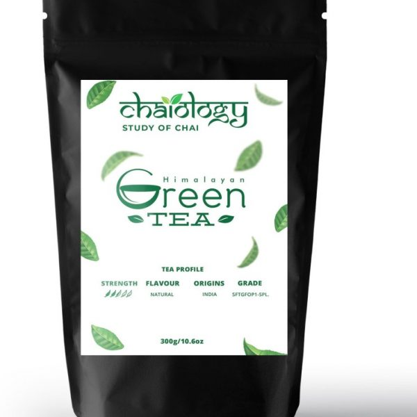 Chaiology Himalayan Green Tea Unflavoured Green Tea(300 G, Pouch)