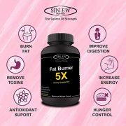 5x Fat Burner Features