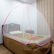 Mosquito Net Single Bed Pink