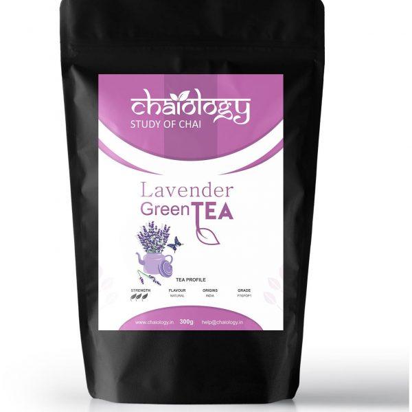Chaiology Lavender Loose Leaf Green Tea 300gm