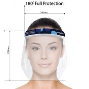 Face Shield Fron Measurement