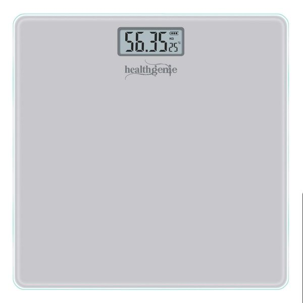 Healthgenie Digital Personal Weighing Scale Hd 221 Mini Silver