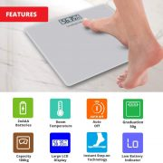 Healthgenie Digital Personal Weighing Scale Hd 221 Mini Silver Features2