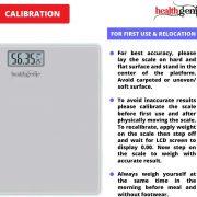Healthgenie Digital Personal Weighing Scale Hd 221 Mini Silver Info