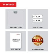 Healthgenie Digital Personal Weighing Scale Hd 221 Mini Silver Package