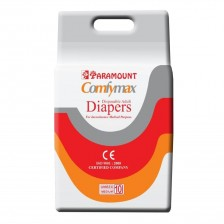 Paramount Comfymax Premium Adult Diapers, Medium – Pack of 10, (71cm-101cm | 28″-40″)