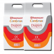 Paramount Comfymax Premium Adult Diapers, Medium – Pack of 20, (71cm-101cm | 28″-40″)