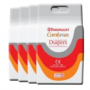 Paramount Comfymax Premium Adult Diapers, Medium – Pack of 40, (71cm-101cm | 28″-40″)