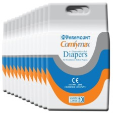 Paramount Comfymax Premium Adult Diapers, Large – Pack of 120, (101cm-150cm | 40″-59″)