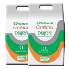 Paramount Comfymax Premium Adult Diaper, Extra Large – Pack of 20, (127cm-170cm | 50″-67″)