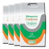Paramount Comfymax Premium Adult Diaper, Extra Large – Pack of 40, (127cm-170cm | 50″-67″)