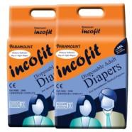 Incofit Premium Adult Diapers-Medium, Pack of 20