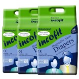 Incofit Adult Diapers (Premium)-Large pack of 30