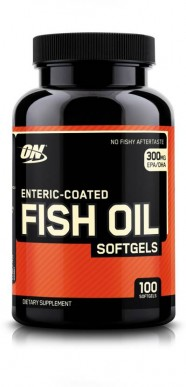 ON Enteric Coated Fish Oil 100 Softgels