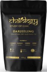 Chaiology Darjeeling Black Tea, 100g (50 Cups) | 100% Natural Loose Leaf Tea