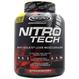 Muscletech Nitro Tech Performance Series -Strawberry-4 lb