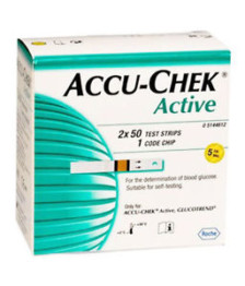 Accu-Chek Active Test 100 Strips