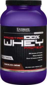 Ultimate Nutrition Prostar 100% Whey Protein Chocolate Crème, 2 lb