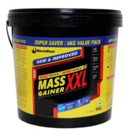 MuscleBlaze Mass Gainer XXL, 5 kg / 11 lb Cafe Mocha