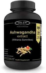 Sinew Nutrition Ashvagandha General Wellness Tablets (120 No.)