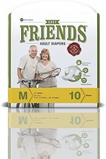 Friends Adult Diaper (Easy) – Medium (Pack of 6)