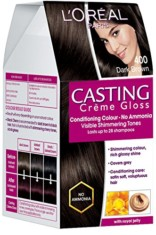 L'Oreal Paris Casting Creme Gloss Hair Color -Dark Brown 400 150ml