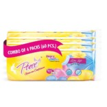 Paree Extra Soft (60 Pcs Combo with 16 Thick & 44 Regular Pads)