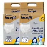 Paramount Incofit Adult Diaper Pants Pull up Extra Large Pack of 20, Size 89cm-140cm (35″-55″) …