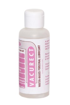 Vacurect Water Based Personal Lubricant, Strawberry