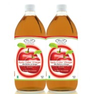 Sinew Nutrition Raw Apple Cider Vinegar with Mother 350ml (Pack of 2) Unfiltered & Unpasteurised
