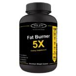 Sinew Nutrition Natural Fat Burner 5X (Green Tea, L-Carnitine, CLA, Green Coffee & Garcinia Cambogia Extract) – 1200 mg (120 Veg Capsules)
