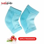 Healthgenie Silicon Gel Heel Socks With Apple fragrance