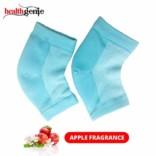 Healthgenie Silicon Gel Heel Socks With Apple fragrance