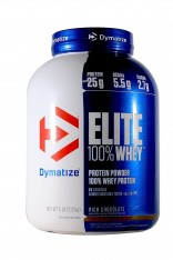 Dymatize Nutrition Elite Whey Protein Powder – 5 lbs (Rich Chocolate)