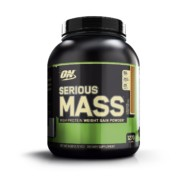 Optimum Nutrition (ON) Serious Mass – 6 lbs (Chocolate Peanut Butter)