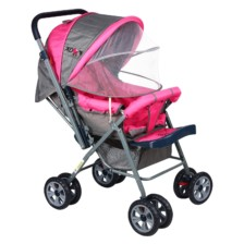 Ador Comfort Baby Stroller 33A Canopy pink